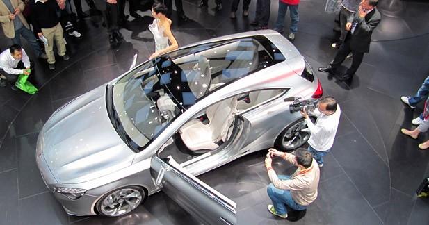 Mercedes Concept A : une nouvelle ère pour Mercedes