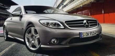 Mercedes coupé CL AMG : déjà des photos !
