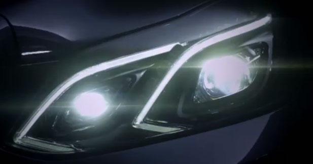 Mercedes dévoile le regard de la future Classe E