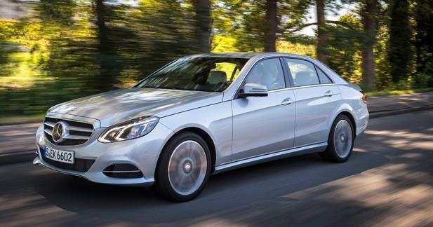 Mercedes E 220 BlueTEC BlueEFFICIENCY Edition : parmi les plus sobres
