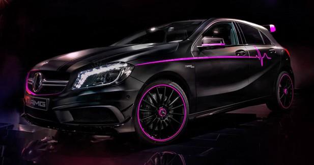 Mercedes A45 AMG Erika : la personnalisation dans toute son extravagance