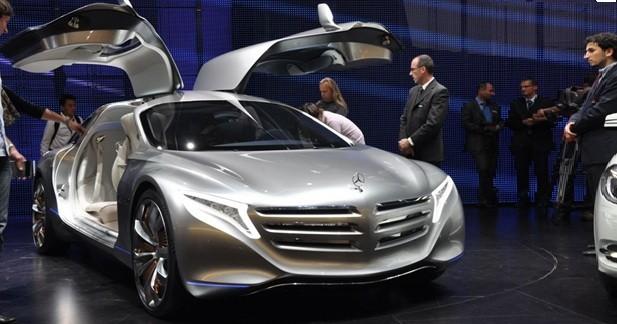 Mercedes F125 Concept : Anticipation hydrogénée...