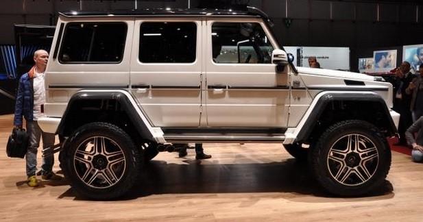 Mercedes G 500 4x4² : brique au carré