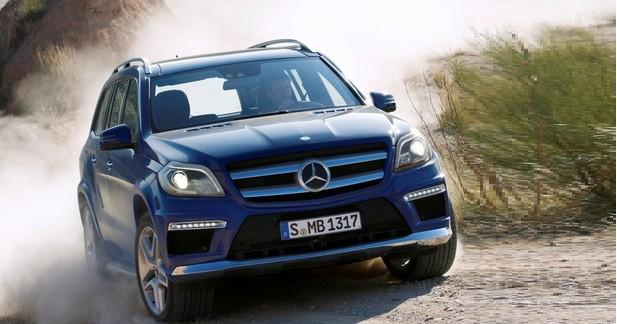 Mercedes GL : Colosse étoilé...