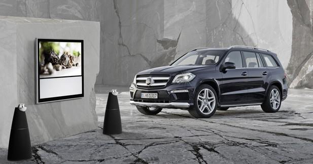 Une option hi-fi Bang & Olufsen pour le Mercedes GL