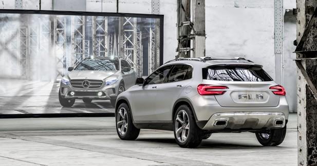 Mercedes GLA Concept : Proche de la série