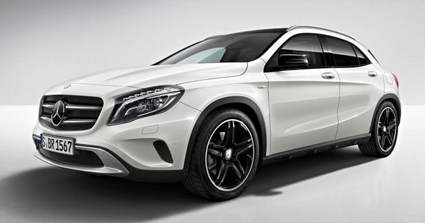 Mercedes GLA Edition 1 : il n'y en aura pas pour tout le monde