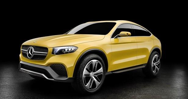 Mercedes GLC Coupé Concept: le BMW X4 n'a qu'à bien se tenir
