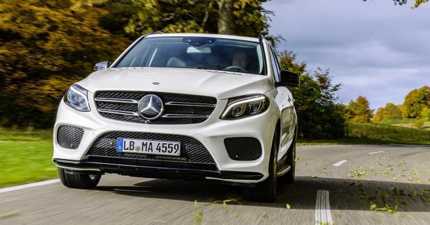 Mercedes GLE 450 AMG 4MATIC: comme le coupé