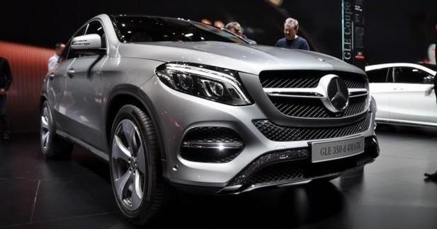 Mercedes GLE Coupé: sur les terres du X6