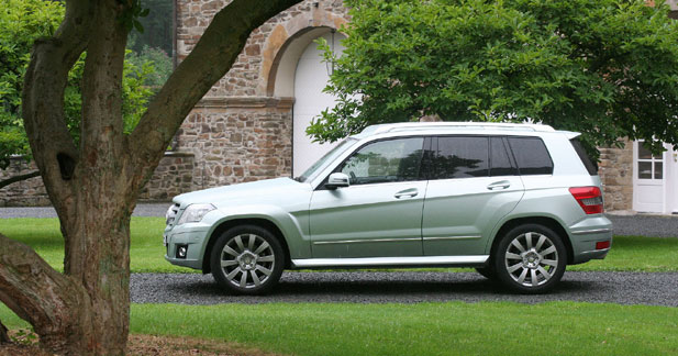 Mercedes GLK 320 CDI : le compact polyvalent