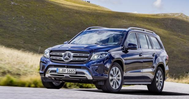 Mercedes GLS: changement d'identité pour le GL