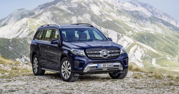 Mercedes GLS: tous les tarifs