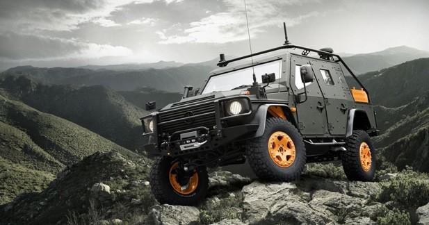 Mercedes LAPV 6X : un concept de Classe G blindé