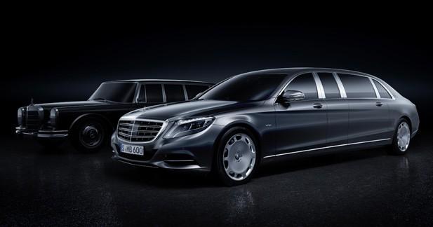 Mercedes-Maybach PullmanClasse S : la folie des grandeurs