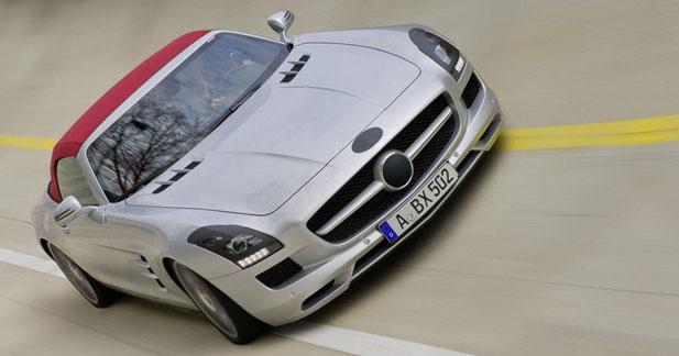 Mercedes SLS AMG Roadster : avant-goût prometteur