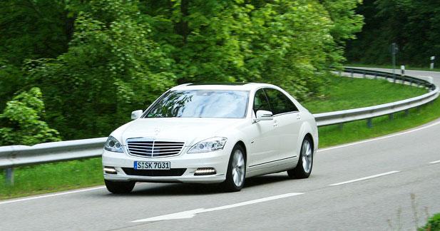 Essai Mercedes S400 Hybrid : luxe écolo