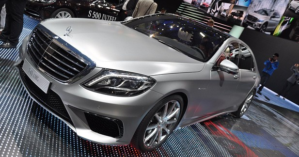 Mercedes S63 AMG 2013 : Mieux amortie