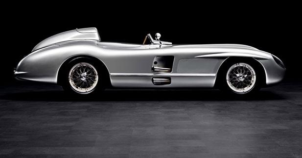 Mercedes dépoussière le style des 50's