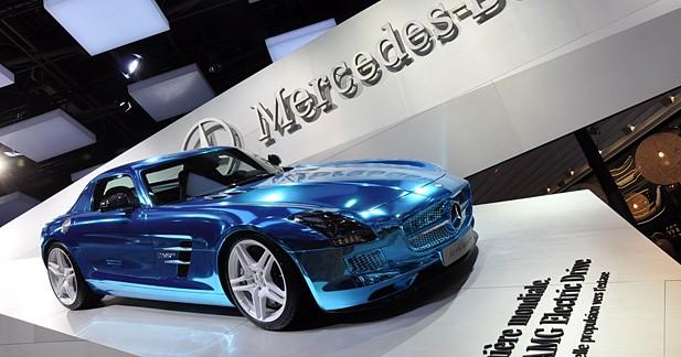 Mercedes SLS AMG Electric Drive : lancement en juin 2013