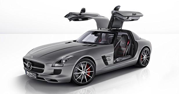 Mercedes SLS AMG GT : Rageuse allemande