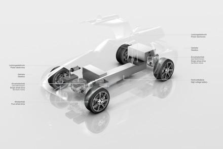 Mercedes SLS eDrive : supercar haute tension