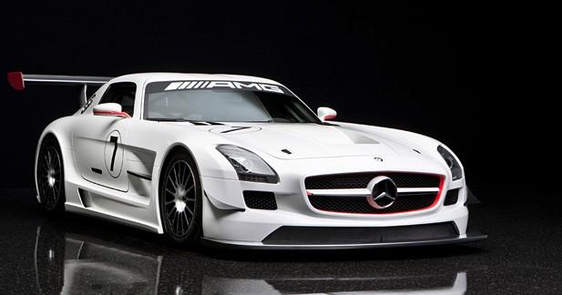 Mercedes SLS GT3 : Après la route, la piste !
