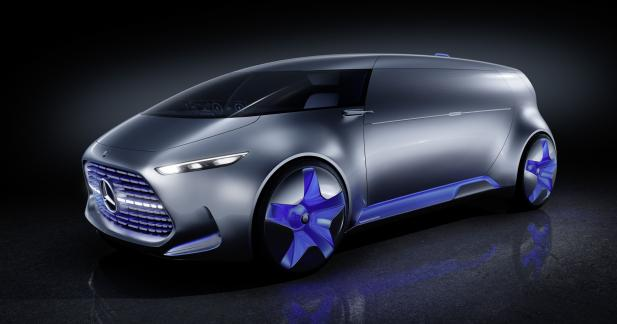 Mercedes Vision Tokyo: mi-van, mi-boîte de nuit