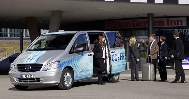 Mercedes Vito E Cell : Le Vito électrique arrive en mai