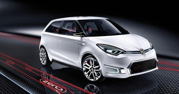 MG Zero Concept : show-car de l'an zéro