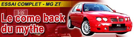 MG ZT 190 : Le come-back du mythe