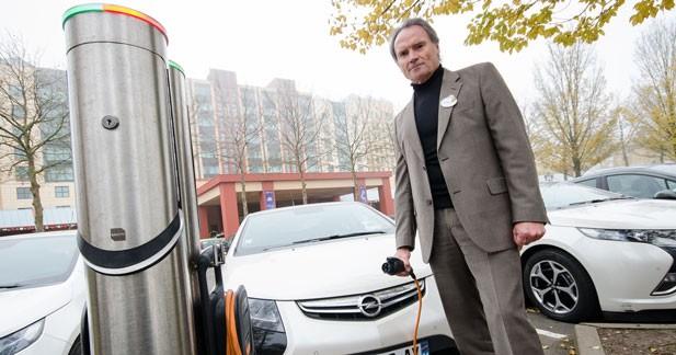 Premier retour d'expérience de l'Opel Ampera chez Disneyland Paris