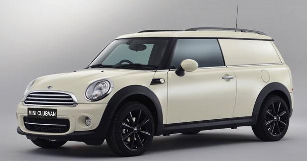 Le Mini Clubvan sera commercialisé à l'automne