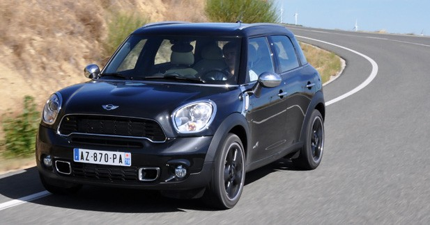 essai mini cooper s countryman un besoin d 39 vasion. Black Bedroom Furniture Sets. Home Design Ideas