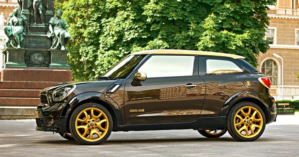 Mini Paceman by Roberto Cavalli : Attention les yeux