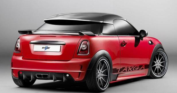 RevoZport dévoile un programme Targa pour le Mini Coupé et Roadster