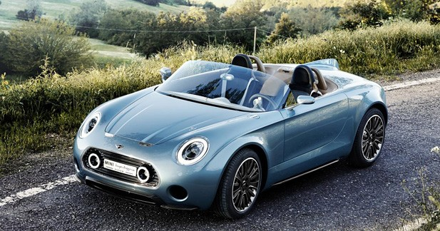 MINI Superleggera Vision : La Mini se métamorphose au lac de Côme