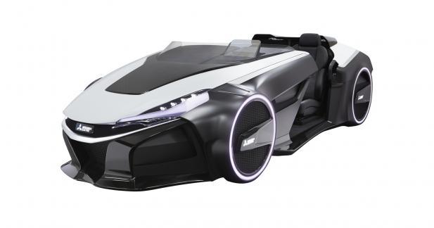 Une barquette Mitsubishi 100% électrique au salon de Tokyo