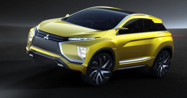 Mitsubishi eX Concept: un SUV 100% électrique