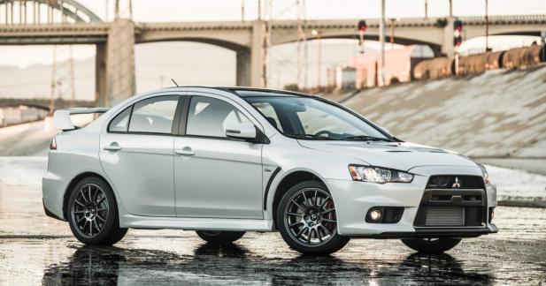 Mitsubishi Lancer Evolution: clap de fin