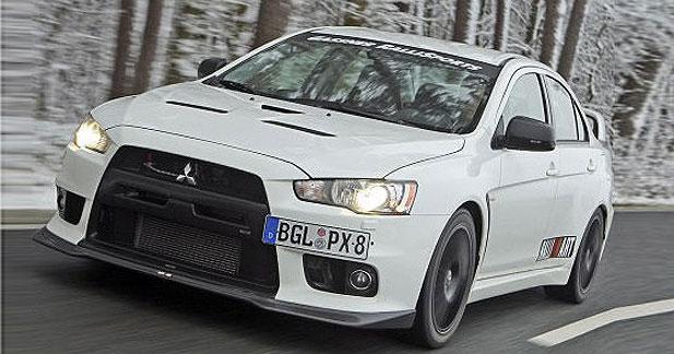 Mitsubishi Lancer Evolution X Par Gassner Devoreuse De Bitume