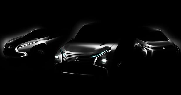 3 concepts Mitsubishi au salon de Tokyo