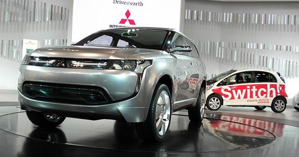 Mitsubishi PX-MiEV : SUV, tendance verte