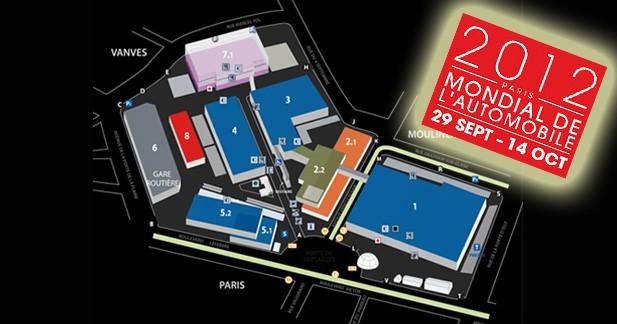Le Mondial de l'Automobile 2012 se tiendra à Paris du 29 septembre au 14 Octobre