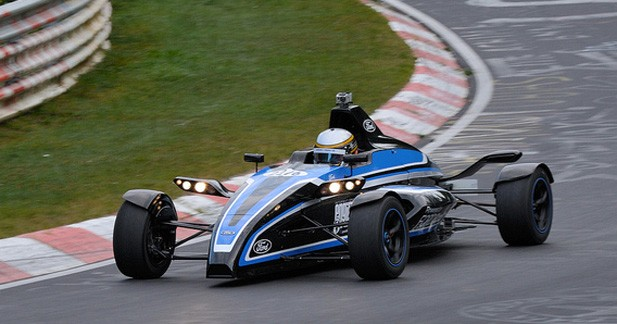 La Formule Ford 1.0 EcoBoost sur le Nürburgring