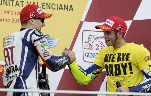 MotoGP: victoire de l'Espagnol Jorge Lorenzo à Valence