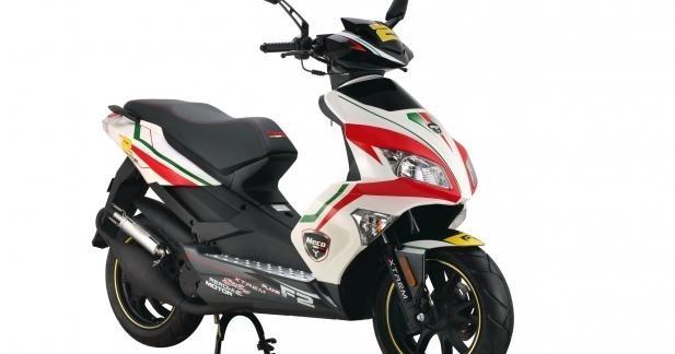 Neco renforce sa gamme de scooter pour 2013
