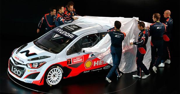 WRC : Hyundai dévoile ses équipages définitifs