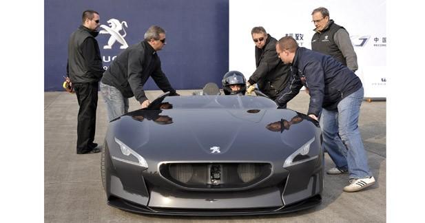 Peugeot établit de nouveaux records en Chine avec l'EX1