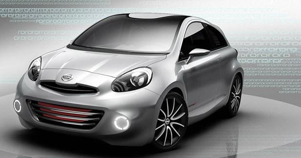 Nissan Concept Sport : une Micra plus musclée